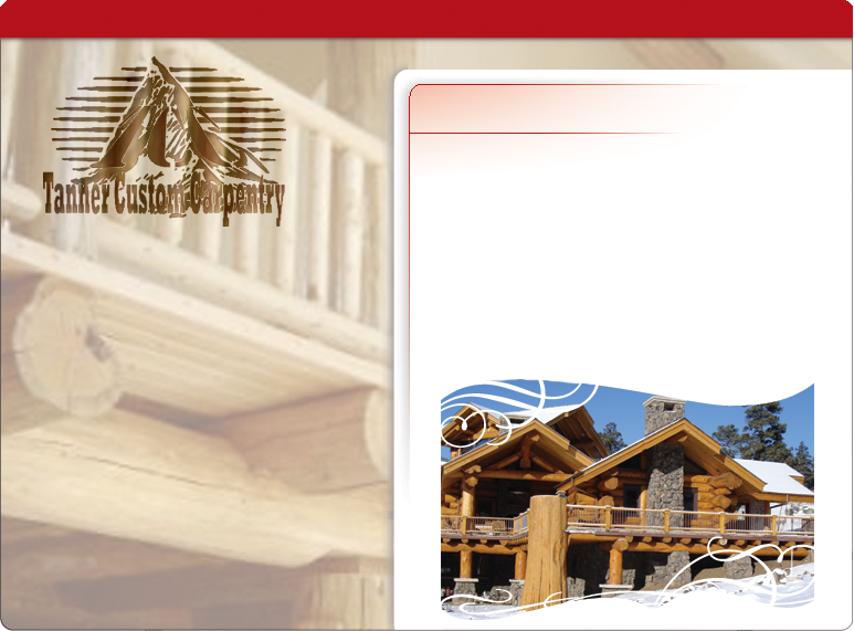 Custom Log Homes and Timber Homes in the mountains of Colorado